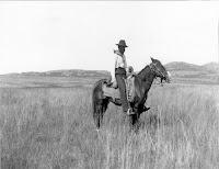 US Geological Surveyor C.N. Gould northwest of Lawton, Oklahoma. 1901.