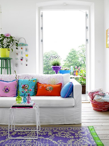 Colorful Living Room Decorating Ideas: Lush Color For Your Home !Interior Decorating,Home Design
