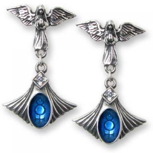 Anarchy on Stardoll: Goth earrings