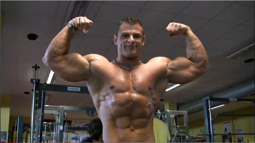 bodybuilder borkovec Male jiri