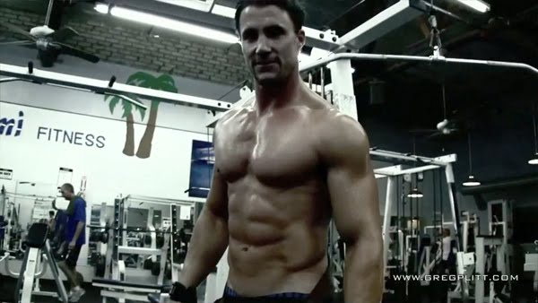 Greg Plitt  Back-Trap Mass WorkoutTraps Workout For Mass
