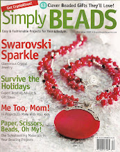 Liz Revit in Simply Beads December 2007