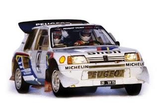 Peugeot 205 Turbo T16