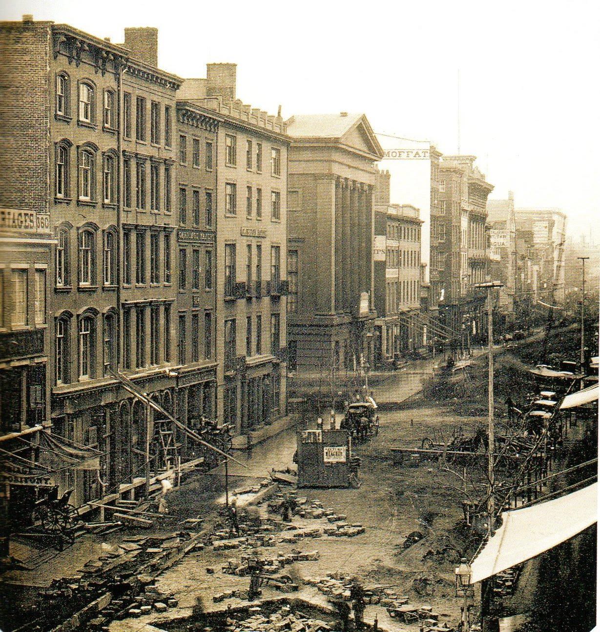 new york history geschichte broadway may 1850. Black Bedroom Furniture Sets. Home Design Ideas