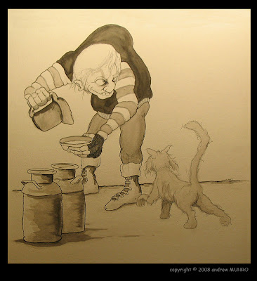 Milkman Sketch