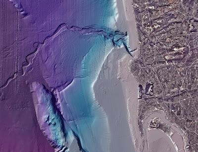 High Resolution Sea Floor Image Offshore San Diego