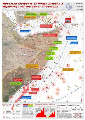 Prise en otage en Somalie UNPiracyMap