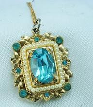 Aquamarine Costume Jewelry