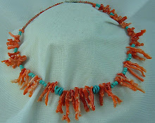 1940s Branch coral Necklace