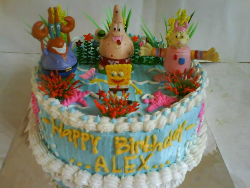 Toko Kue Bolu Enak Tart Spongebob