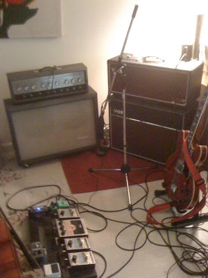 Steel Train Guitar Rig