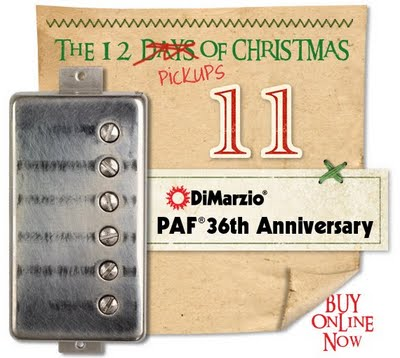 DiMarzio Paf 36th ann