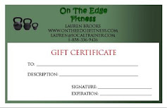 GIFT CERTIFICATES, now available.