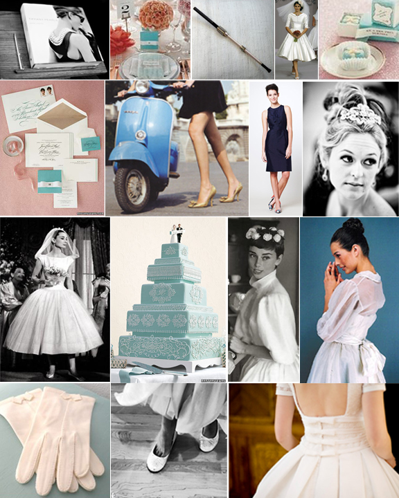 Audrey Hepburn Wedding Theme Image Collections Decoration