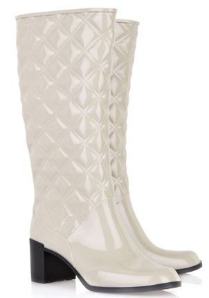 If You Must Wear All White On Your Wedding Day These Marc Jacobs Boots Would Do The Trick Love Quilting
