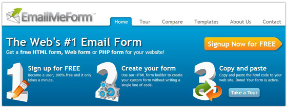 Email Me Form - HTML Forms, Web Forms, PHP Form