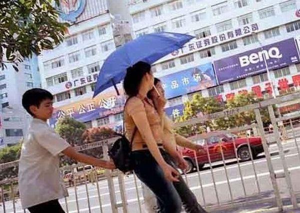 Foto Aksi Pencopet Di China Yang Terpotret Kamera - 11