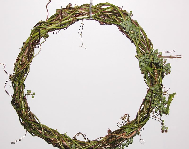 detroitknitter ivy wreath