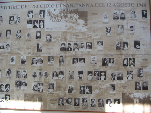 victims of sant'anna di stazzema massacre, under the age of 16