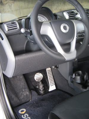 Sporty Look with Brabus Pedals