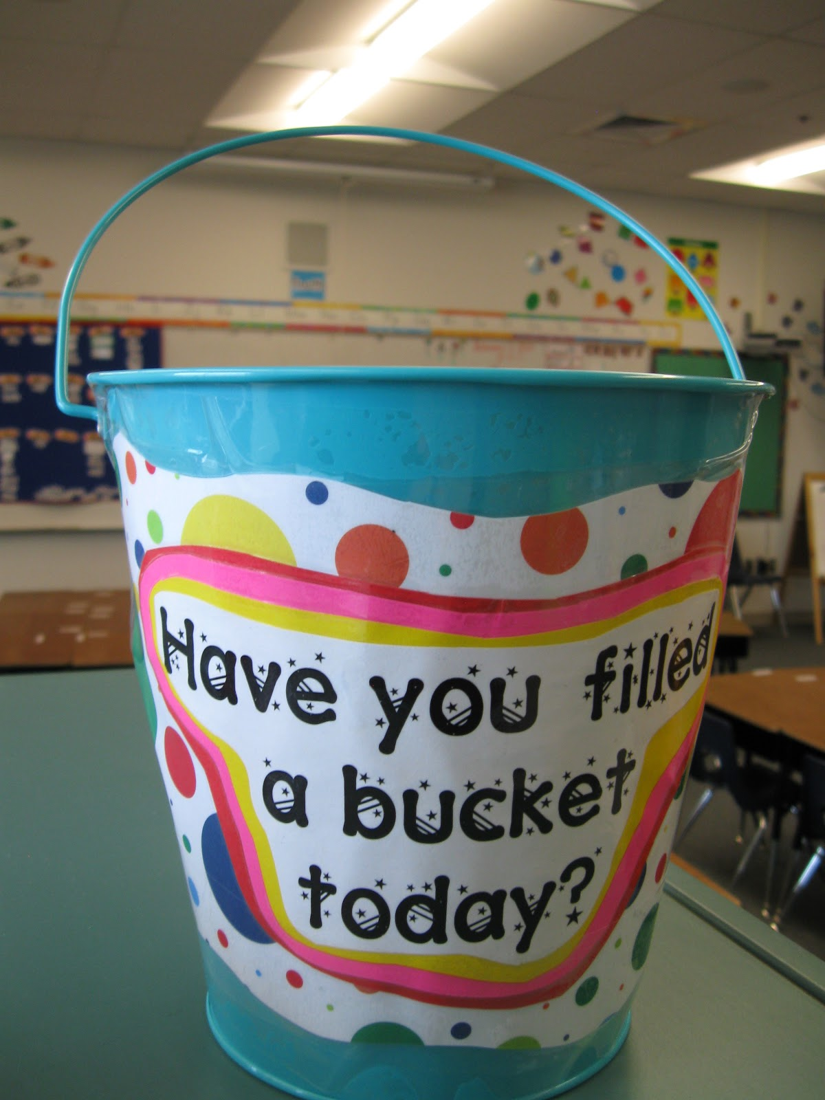 What The Teacher Wants Are You A Bucket Filler