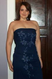 hot blue dress, Spring 2007
