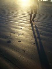 Caminhando sob o sol