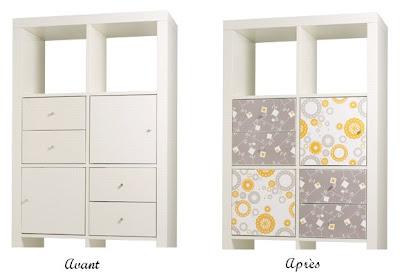 journal d co d 39 une courgette stickers pour meubles ikea. Black Bedroom Furniture Sets. Home Design Ideas