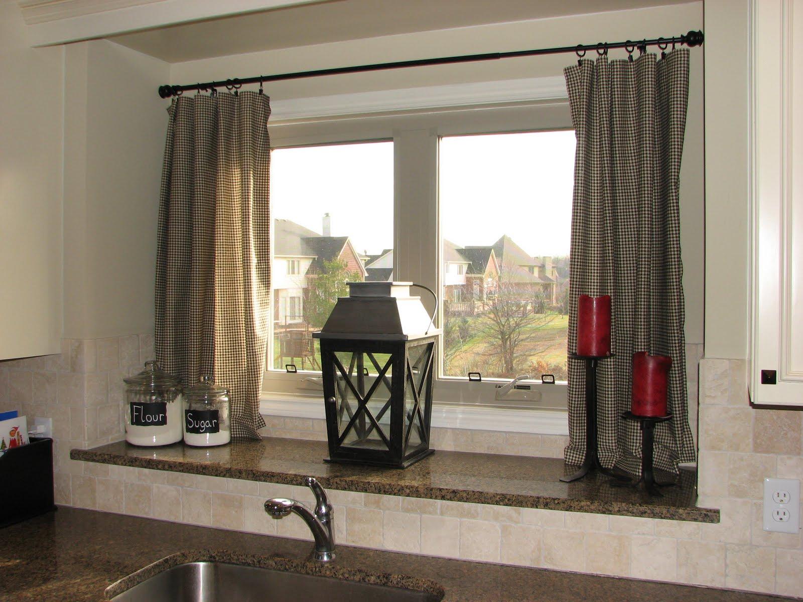 Life On Nickelby DIY Kitchen Curtains