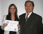 Graduacion de Maria con Master Yu
