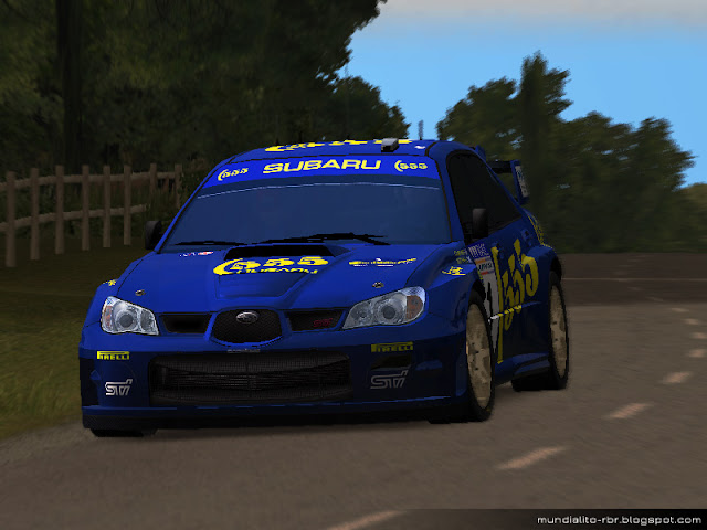 Impreza WRC - McRae Skin