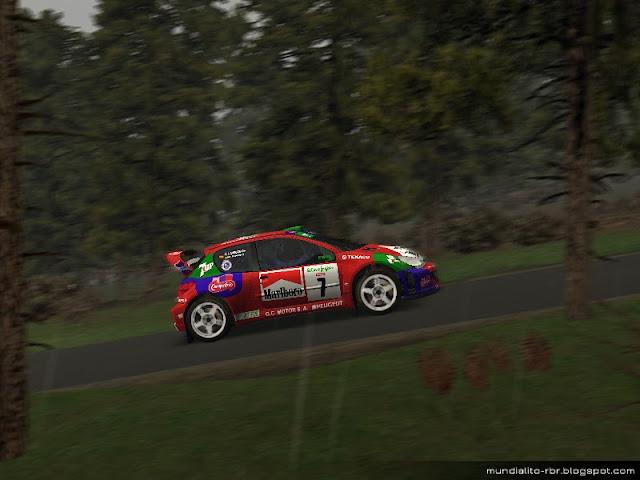 Peugeot 206 WRC JM Ponce El Corte Ingles 2001
