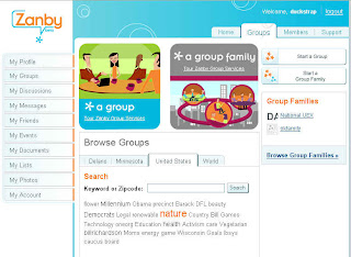 Group Landing Page