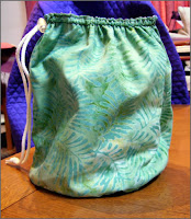 Knit2 bag in green