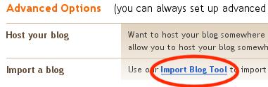 createblog-importblog