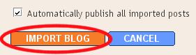 كيف تاخذ نسخة من مدونتك؟