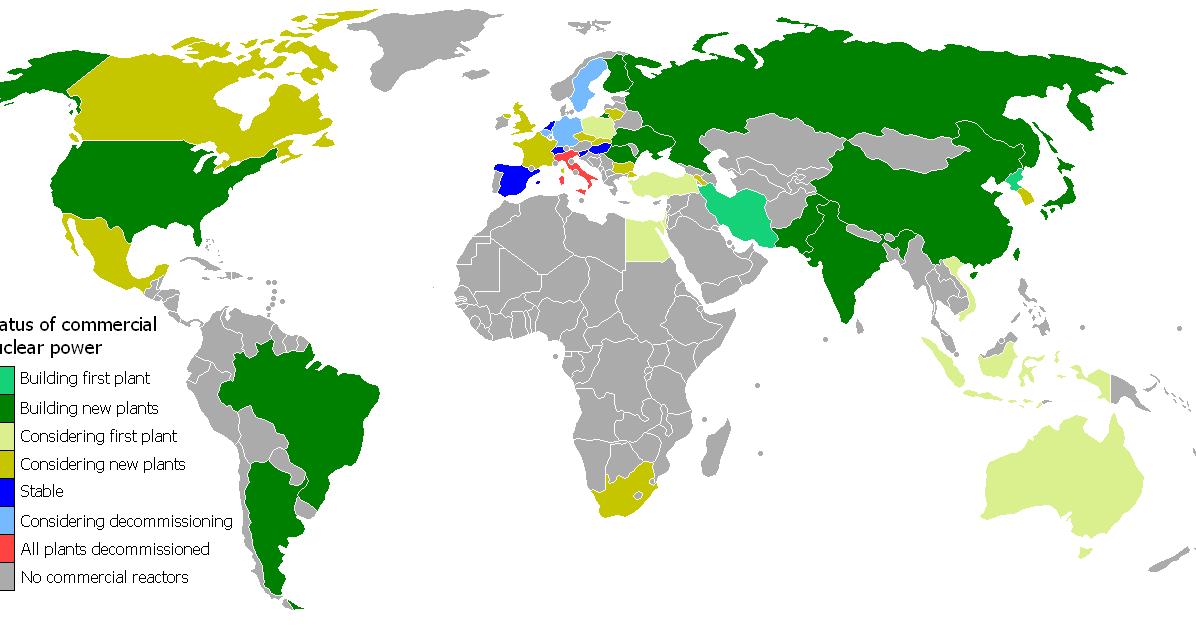 map nuclear