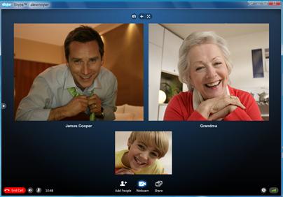 【Skype】IDを交換せずに複数人でグループ通話を …