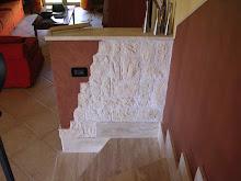 Imbiancature e applicatori prodotti decorativi roma for Finta pietra leroy merlin
