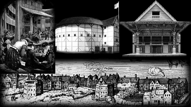 The Globe Theatre (new and old)