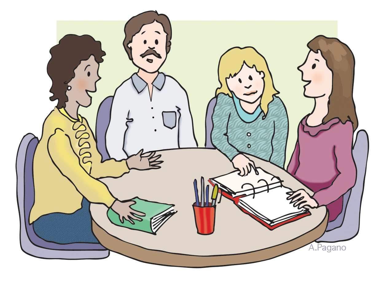 clipart of teacher and parents - photo #12