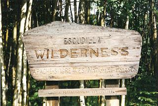Entrance to Escudilla Wilderness