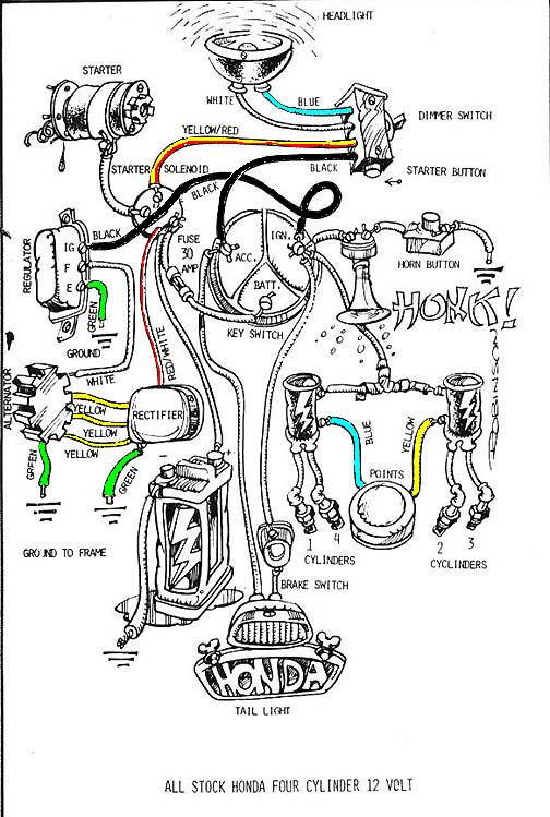 Antiquated Mule: Honda Wiring Diagram