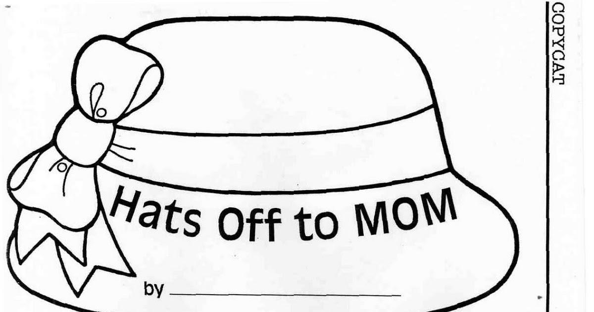 ELEMENTARY SCHOOL ENRICHMENT ACTIVITIES: MOTHER'S DAY HATS
