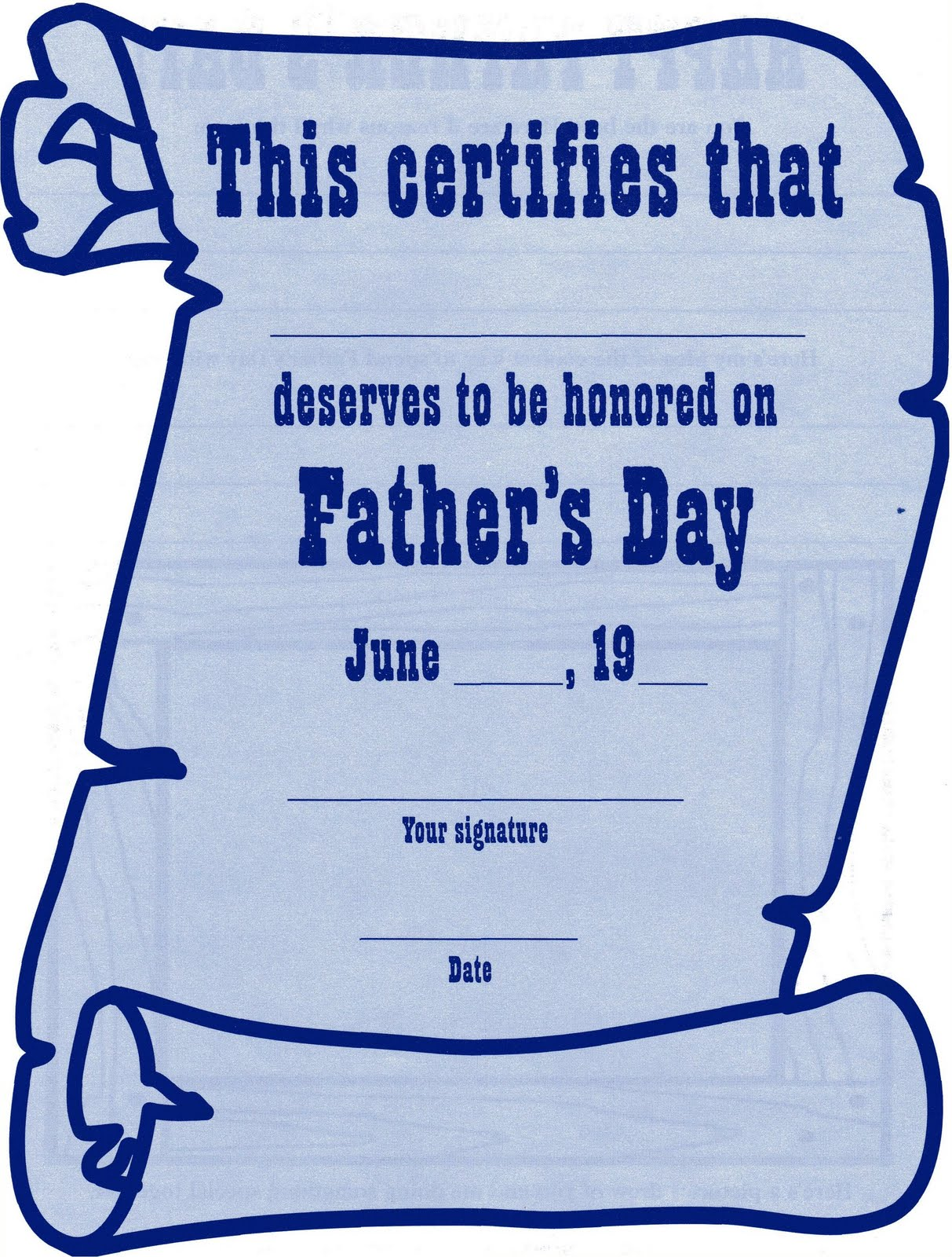 ELEMENTARY SCHOOL ENRICHMENT ACTIVITIES: FATHER'S DAY ...
