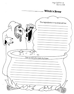 ELEMENTARY SCHOOL ENRICHMENT ACTIVITIES: WITCHES' BREW