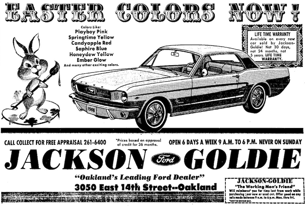 Mustang Codex: October 2010