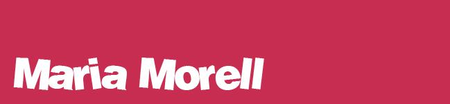 Maria Morell - Blog profesional, curriculum y trabajos.