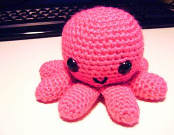 orange dumbo octopus by mohu | Project | Crochet / Kids & Baby ... | 273x350