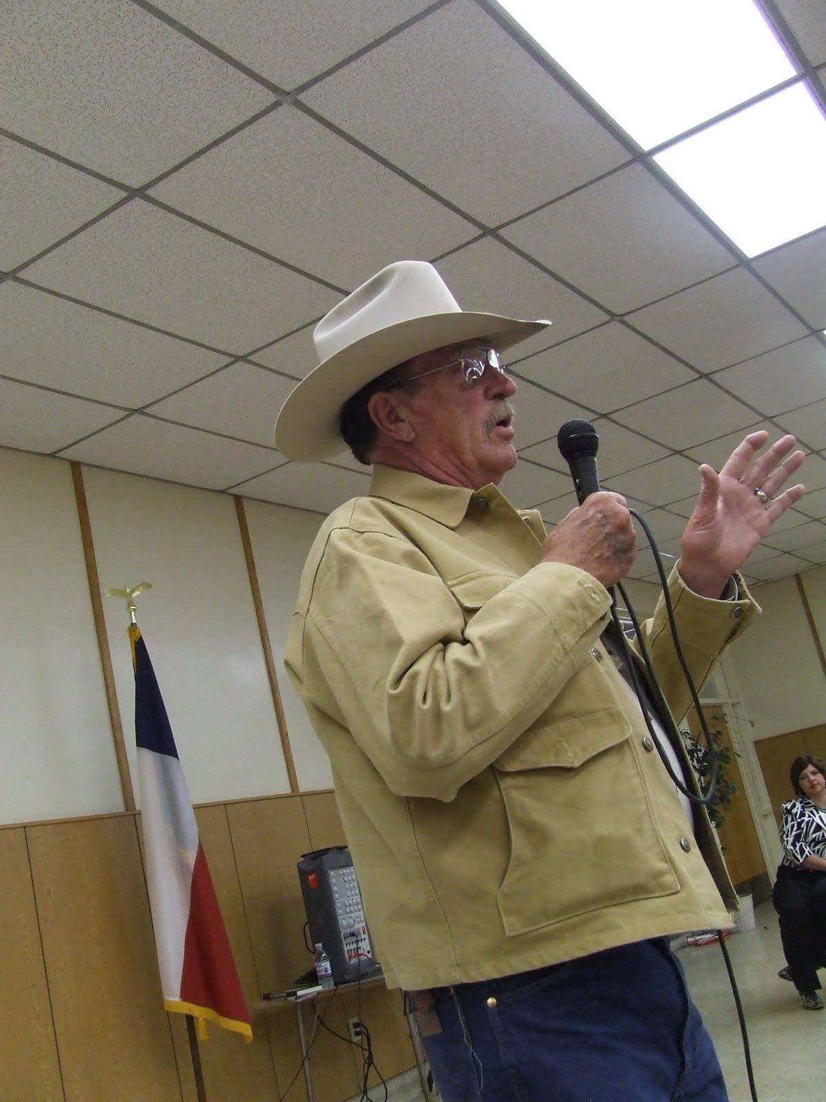 The Voice of Mitchell County Texas Ranger Joaquin Jackson